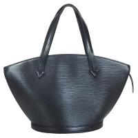 """Louis Vuitton """"Saint Jacques Epi leder"""" in zwart"""