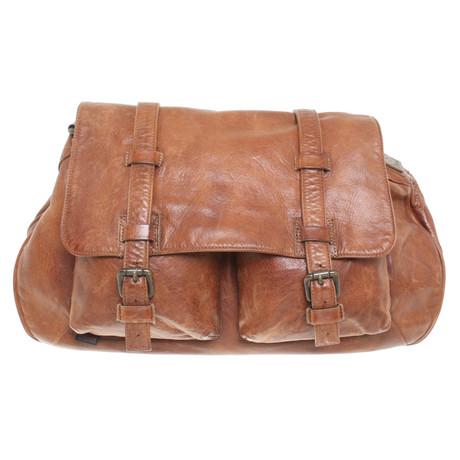 Footlocker Bilder Online Kaufen Belstaff Handtasche in Used-Look Braun In Deutschland Zu Verkaufen MhMQXyw