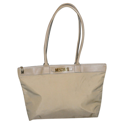 Moschino Shopper in Beige