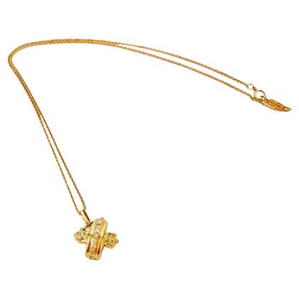 Tiffany & Co. TIFFANY & CO Gold collier avec Diamant