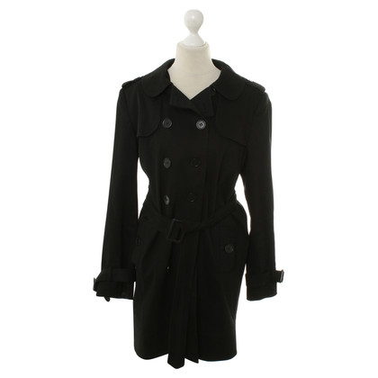 Hope Trenchcoat in Schwarz