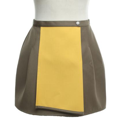 Kenzo skirt in yellow / green