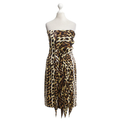 Just Cavalli Bandeau dress
