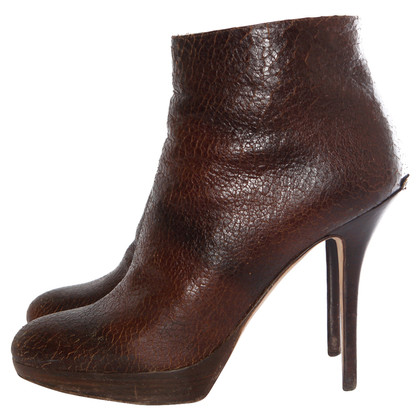 Christian Dior Brown ankle boots
