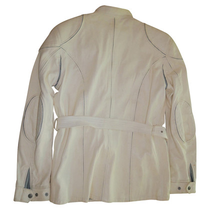 Belstaff Leather Jacket in champagne kleur
