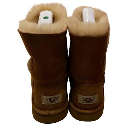 UGG Australia Bottes en marron / beige