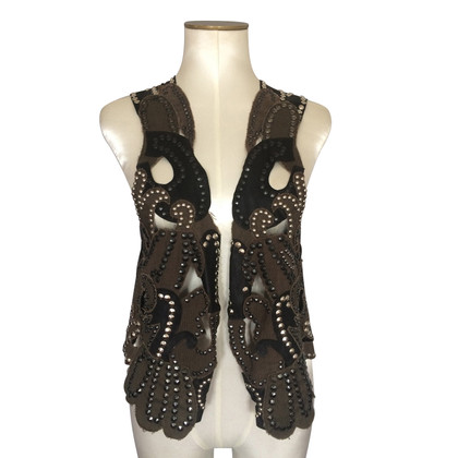 Balmain Leather vest