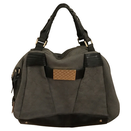 JOOP! Joop suede leather handbag