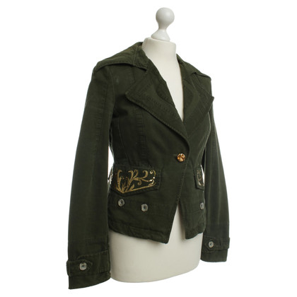 Pinko Blazer in verde scuro