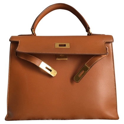 "Hermès ""Kelly Bag 28 Sellier"" van Epsomleder"