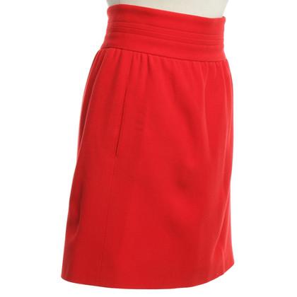 Hermès skirt in red