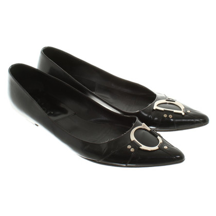 Christian Dior vernice Slipper