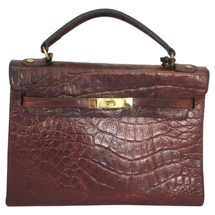 Mulberry Handbag crocodile embossed
