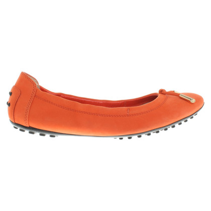 Tod's Ballerinas in orange