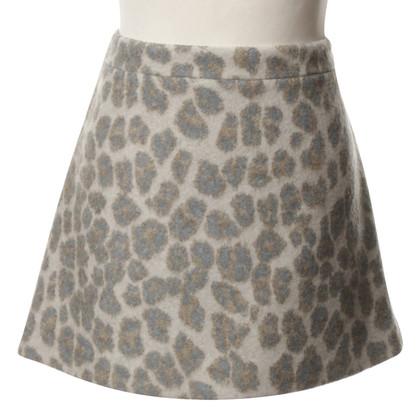 Stella McCartney Mini skirt with Leopard print