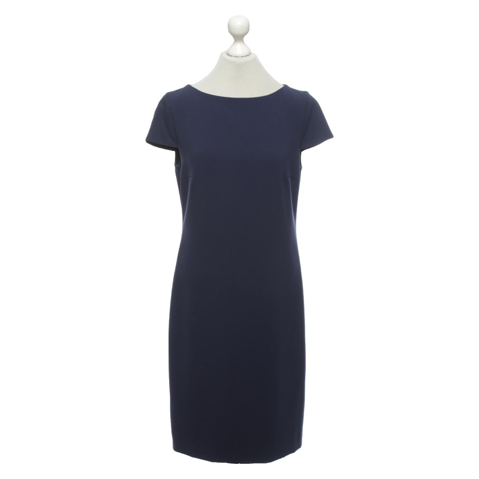 Strenesse Kleid in Blau - Second Hand Strenesse Kleid in Blau