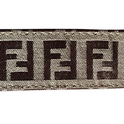 Fendi Belt with Zucca patterns