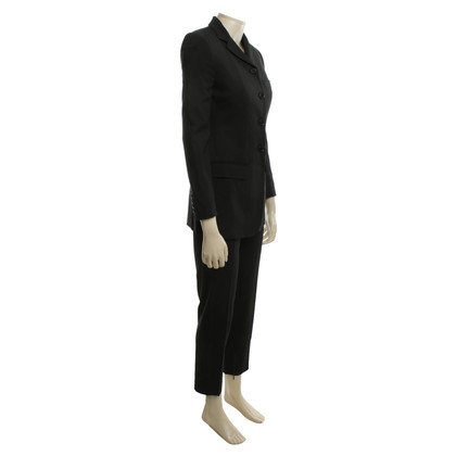 Dolce & Gabbana Elegant Twin Set in zwart