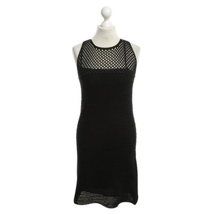 Prada Gebreide jurk zwart