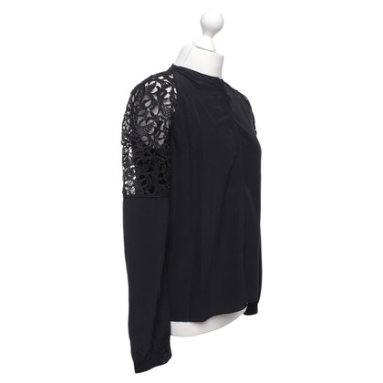 Dorothee Schumacher Zijden blouse in zwart