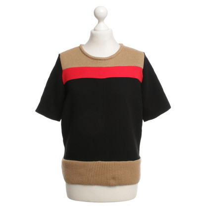 Sandro top with knit
