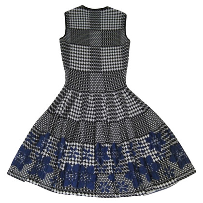 Alexander McQueen Black and white dress