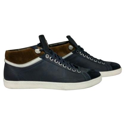 Santoni Blue sneackers