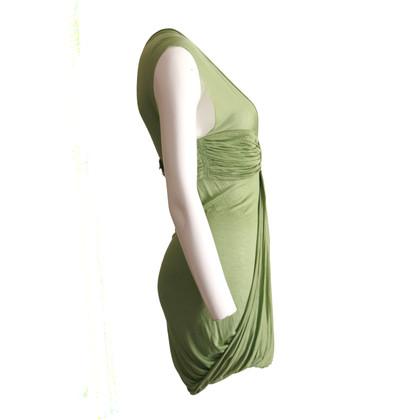 Altre marche abito drappeggiato verde