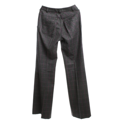 Diane von Furstenberg trousers in grey / Pink