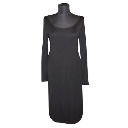 Max Mara Gebreide jurk met plooien