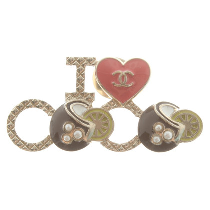 Chanel Broche en or