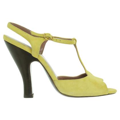 L'autre Chose Sandals in yellow
