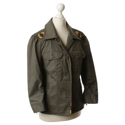 Juicy Couture Backman in the military style