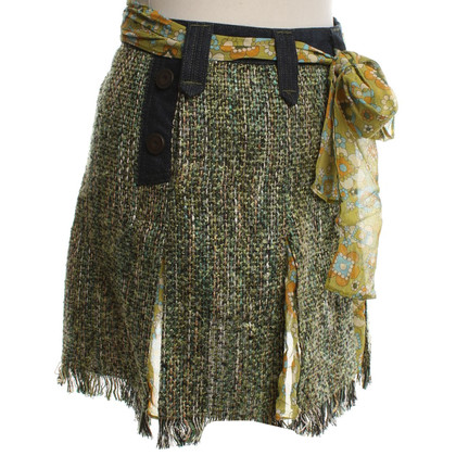 D&G Boucle Rok in Multicolor