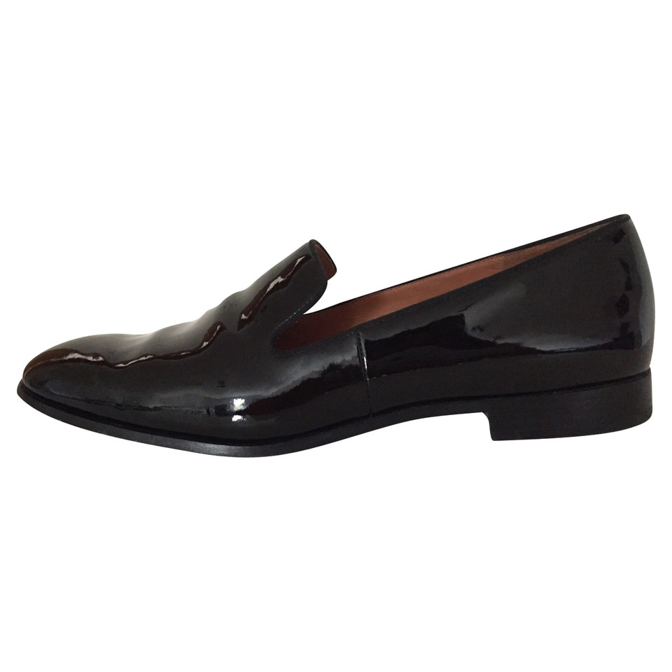 marc by marc jacobs lackleder loafers second hand marc by marc jacobs lackleder loafers. Black Bedroom Furniture Sets. Home Design Ideas