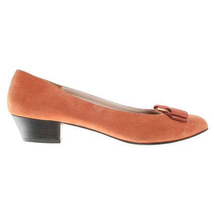 Salvatore Ferragamo Ballerine à Orange