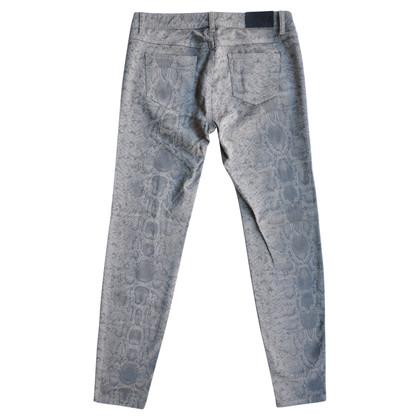 Set Jeans met slang patroon