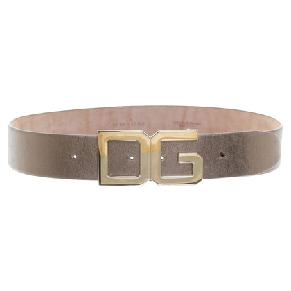 Dolce & Gabbana Golden belt
