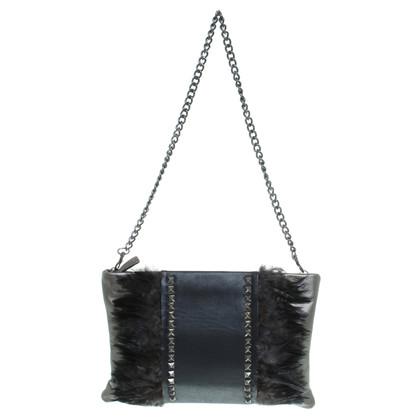 Romanowski Handtasche mit Feder-Details