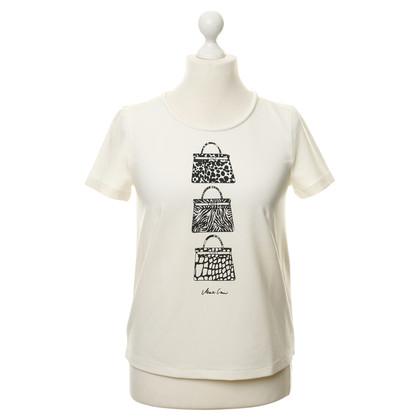 Marc Cain Shirt mit Taschen Motiv