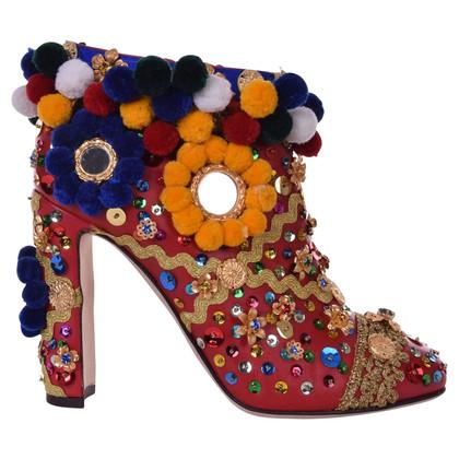 Dolce & Gabbana Stivaletti con finiture decorative
