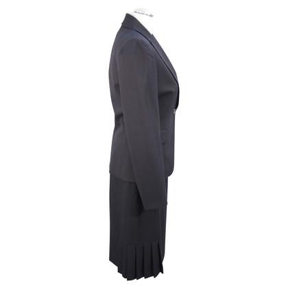 Tahari Costume in blu scuro