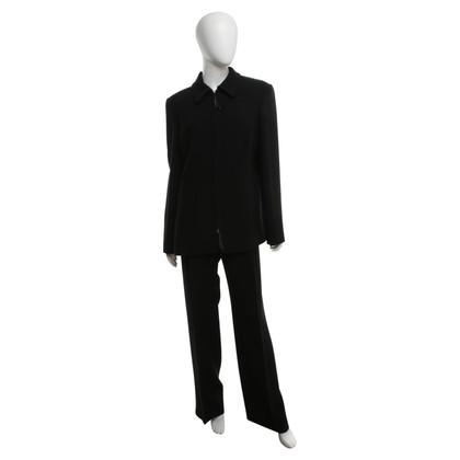 Marina Rinaldi Tailleur pantalone in nero