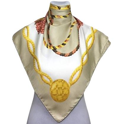 Céline Silk scarf with print