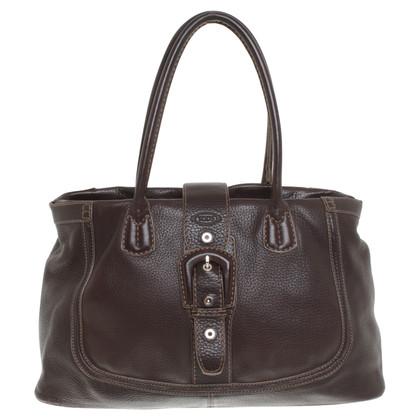 Tod's Handbag in dark brown