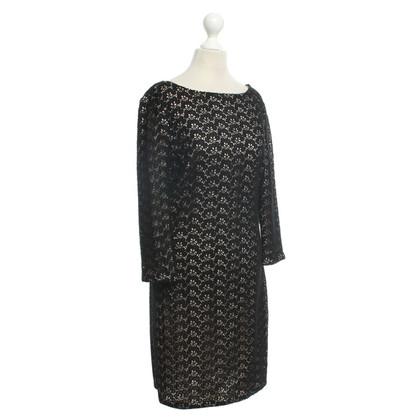 Diane von Furstenberg Dress in black / nude