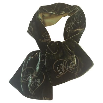 Christian Dior Velvet Scarf