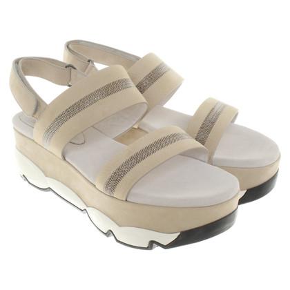 Brunello Cucinelli Sandaletten aus Wildleder