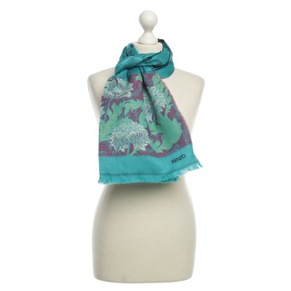 Kenzo Scarf in turquoise