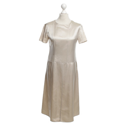 Marni Silk Dress in Beige
